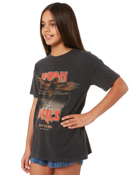 BLACK KIDS GIRLS RIP CURL TOPS - JTEEZ10090