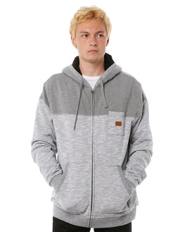GREY HEATHER MENS CLOTHING BILLABONG JUMPERS - 9585632GHTR