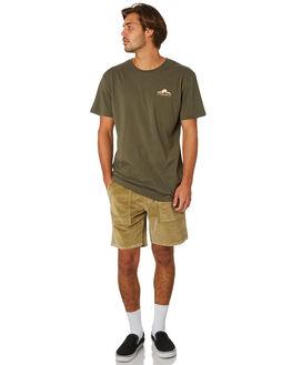 OLIVE MENS CLOTHING RHYTHM TEES - JAN19M-PT04-OLI
