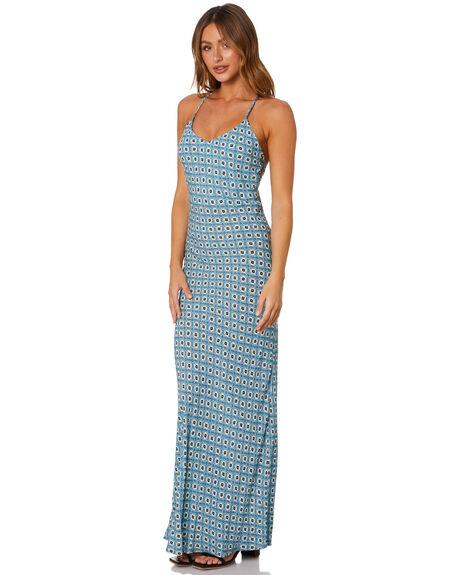 SKY BLUE WOMENS CLOTHING TIGERLILY DRESSES - T601400SKY