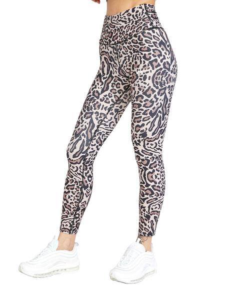 GRAY LEO WOMENS CLOTHING RVCA ACTIVEWEAR - RV-R417278-GYO