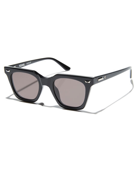 GLOSS BLACK SILVER MENS ACCESSORIES VALLEY SUNGLASSES - S0456GBLK