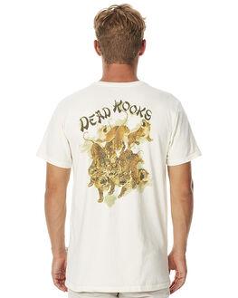 OFF WHITE MENS CLOTHING DEAD KOOKS TEES - DKSSTEE02OWHT