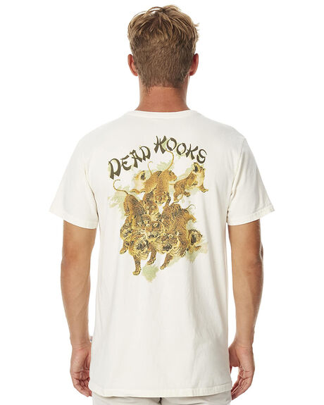 OFF WHITE MENS CLOTHING DEAD KOOKS TEES - DKSSTEE02OWHT