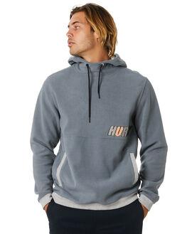 SMOKE GREY MENS CLOTHING HURLEY JUMPERS - CU0357080