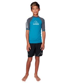 CRYSTAL TEAL BOARDSPORTS SURF QUIKSILVER BOYS - EQBWR03111-BRN0