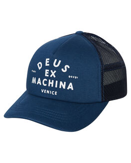 MID BLUE MENS ACCESSORIES DEUS EX MACHINA HEADWEAR - DMW97106BMBLU