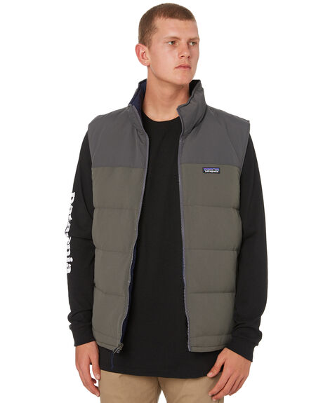 FORGE GREY MENS CLOTHING PATAGONIA JACKETS - 27587FEG