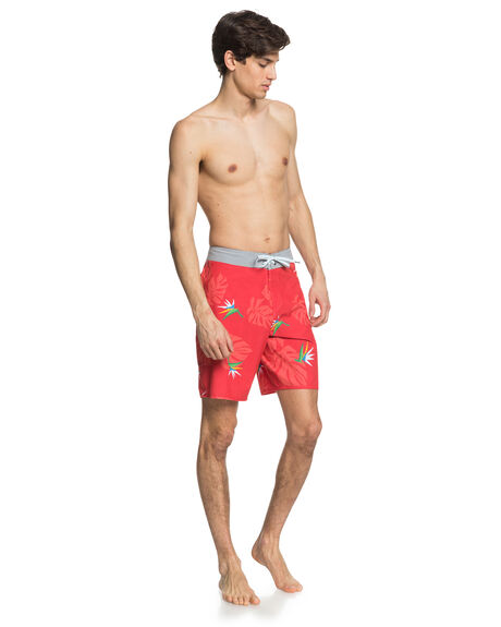 HIBISCUS MENS CLOTHING QUIKSILVER BOARDSHORTS - EQYBS04377-RMZ6