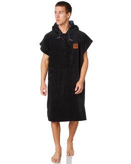 BLACK MENS ACCESSORIES SLOWTIDE TOWELS - ST173BLK