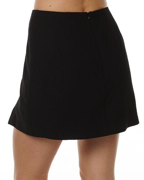 BLACK WOMENS CLOTHING MINKPINK SHORTS - MP1602434BLK