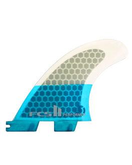 BLUE SURF HARDWARE FCS FINS - FPER-PCS1-TS-RBLU1