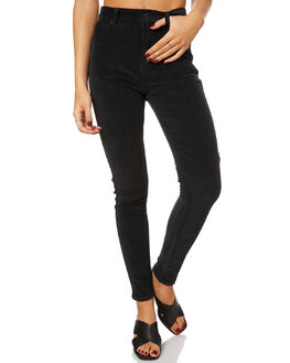 STONE BLACK WOMENS CLOTHING AFENDS JEANS - 53-01-021SBL