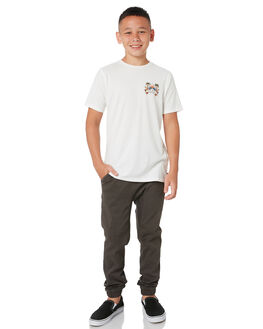 OFF WHITE KIDS BOYS SWELL TOPS - S3202003OFFWH