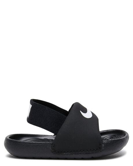 BLACK WHITE KIDS BOYS NIKE FOOTWEAR - BV1094-001