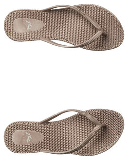 TRUFFLE WOMENS FOOTWEAR RUSTY THONGS - FOL0317TFL