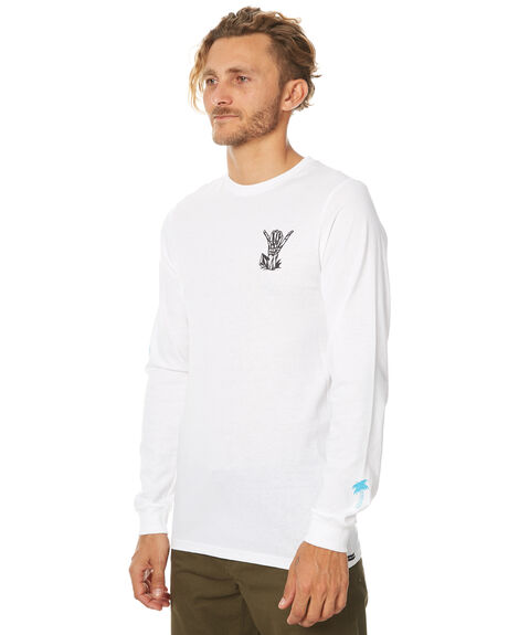 WHITE MENS CLOTHING VOLCOM TEES - A3631774WHT