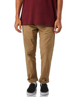 LEATHER MENS CLOTHING CARHARTT PANTS - I021155-8YLEA
