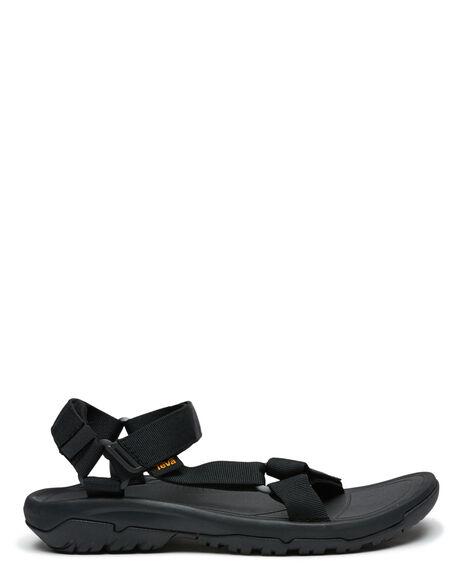 BLACK MENS FOOTWEAR TEVA THONGS - T1019234BLK