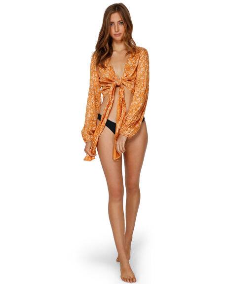 GOLD DUST WOMENS CLOTHING BILLABONG FASHION TOPS - BB-6591094-GDD