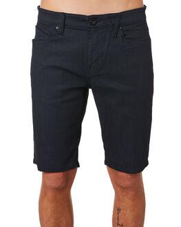 COATED INDIGO WASH MENS CLOTHING VOLCOM SHORTS - A2031802CIW