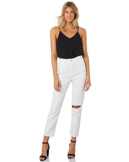 ZINC RIP WOMENS CLOTHING A.BRAND JEANS - 715584596