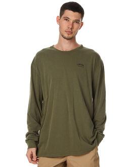 DIRTY MILITARY MENS CLOTHING STUSSY TEES - ST071001DMIL