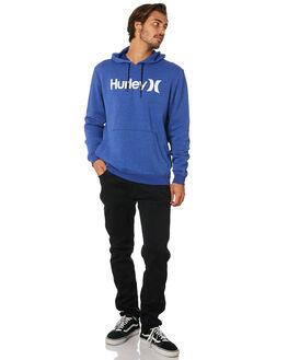 DEEP ROYAL HEATHER MENS CLOTHING HURLEY JUMPERS - AQ0773402