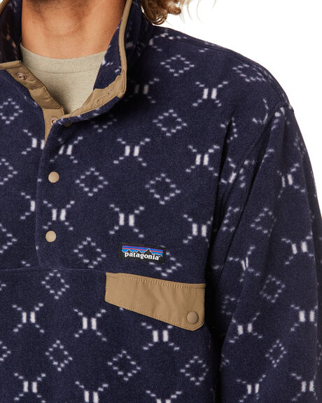 GOSHAWK NEW NAVY MENS CLOTHING PATAGONIA JUMPERS - 25580GWNE