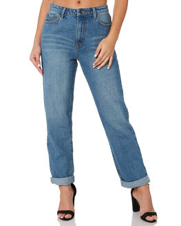 VINTAGE BLUE WOMENS CLOTHING RUSTY JEANS - PAL1118VIB