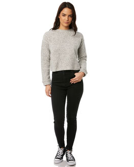 GREY MARLE WOMENS CLOTHING ALL ABOUT EVE KNITS + CARDIGANS - 6491069GRY