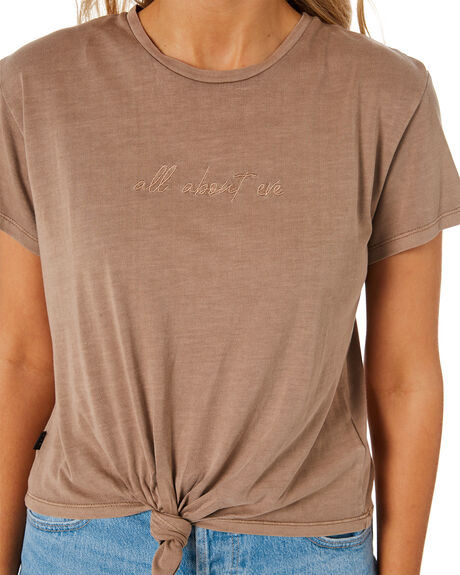 TANK WOMENS CLOTHING ALL ABOUT EVE TEES - 6473001TAN