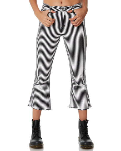 BLACK WHITE OUTLET WOMENS AFENDS JEANS - W182451BLACK