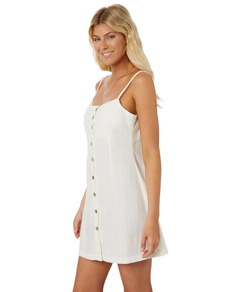 WHITE WOMENS CLOTHING THE HIDDEN WAY DRESSES - H8188442WHITE