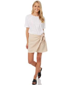 NATURAL WOMENS CLOTHING ELEMENT SKIRTS - 273852NAT