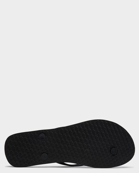 BLACK WOMENS FOOTWEAR RIP CURL THONGS - TGTF250090