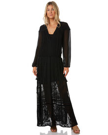 Tigerlily Reseda Maxi Dress - Black | SurfStitch