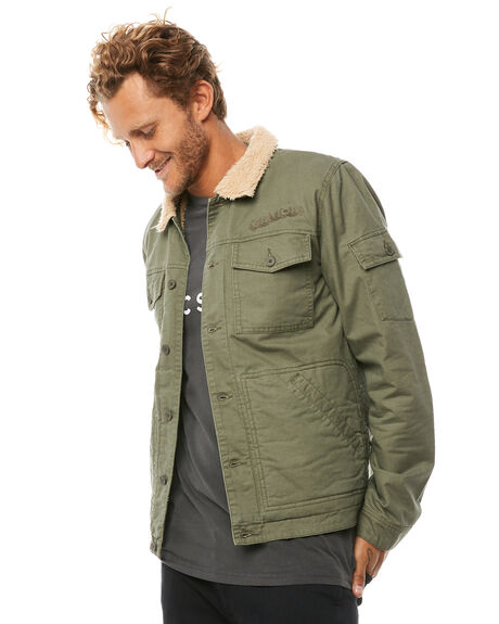 FATIGUE MENS CLOTHING THE CRITICAL SLIDE SOCIETY JACKETS - JK1801FAT