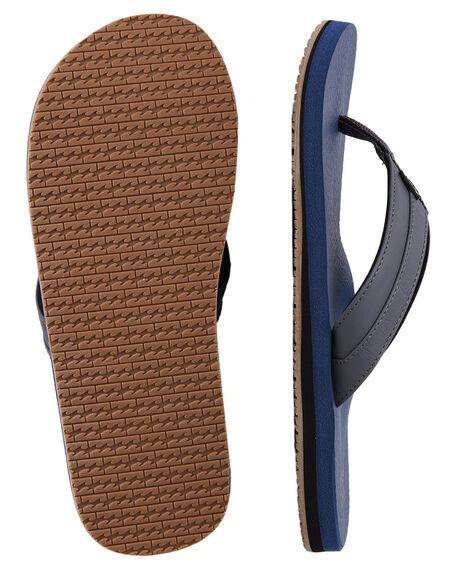 NAVY MENS FOOTWEAR BILLABONG THONGS - BB-9603930-NVY