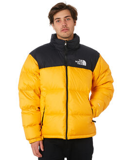 ORANGE MENS CLOTHING THE NORTH FACE JACKETS - NF0A3C8DH6G