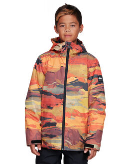 BARN RED MATTE BOARDSPORTS SNOW QUIKSILVER KIDS - EQBTJ03098-RQJ1