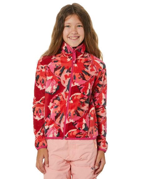 RED AOP KIDS GIRLS O'NEILL JUMPERS + JACKETS - 0P52723940