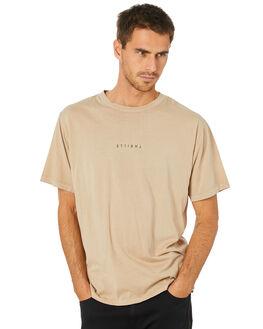 OXFORD TAN MENS CLOTHING THRILLS TEES - TW20-122COXTAN