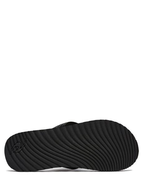 BLACK MENS FOOTWEAR RIP CURL THONGS - TCTG400090