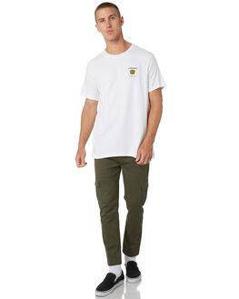 WHITE MENS CLOTHING LOWER TEES - LO19Q1MTS02WHT