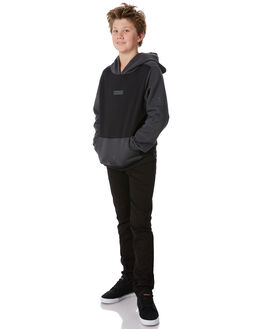 ANTHRACITE KIDS BOYS HURLEY JUMPERS - ABAH7093060
