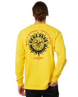 CANARY MENS CLOTHING AFENDS TEES - M181065CAN