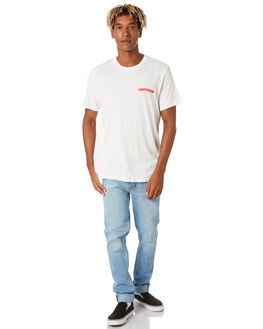VINTAGE WHITE MENS CLOTHING WRANGLER TEES - 901780066