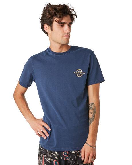 DARK SAPHIRE MENS CLOTHING RUSTY TEES - TTM2346DKS