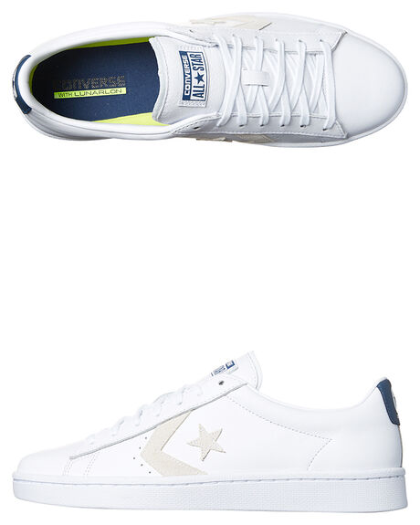 35f6528c152a59 WHITE NAVY MENS FOOTWEAR CONVERSE SNEAKERS - 155320WHNV